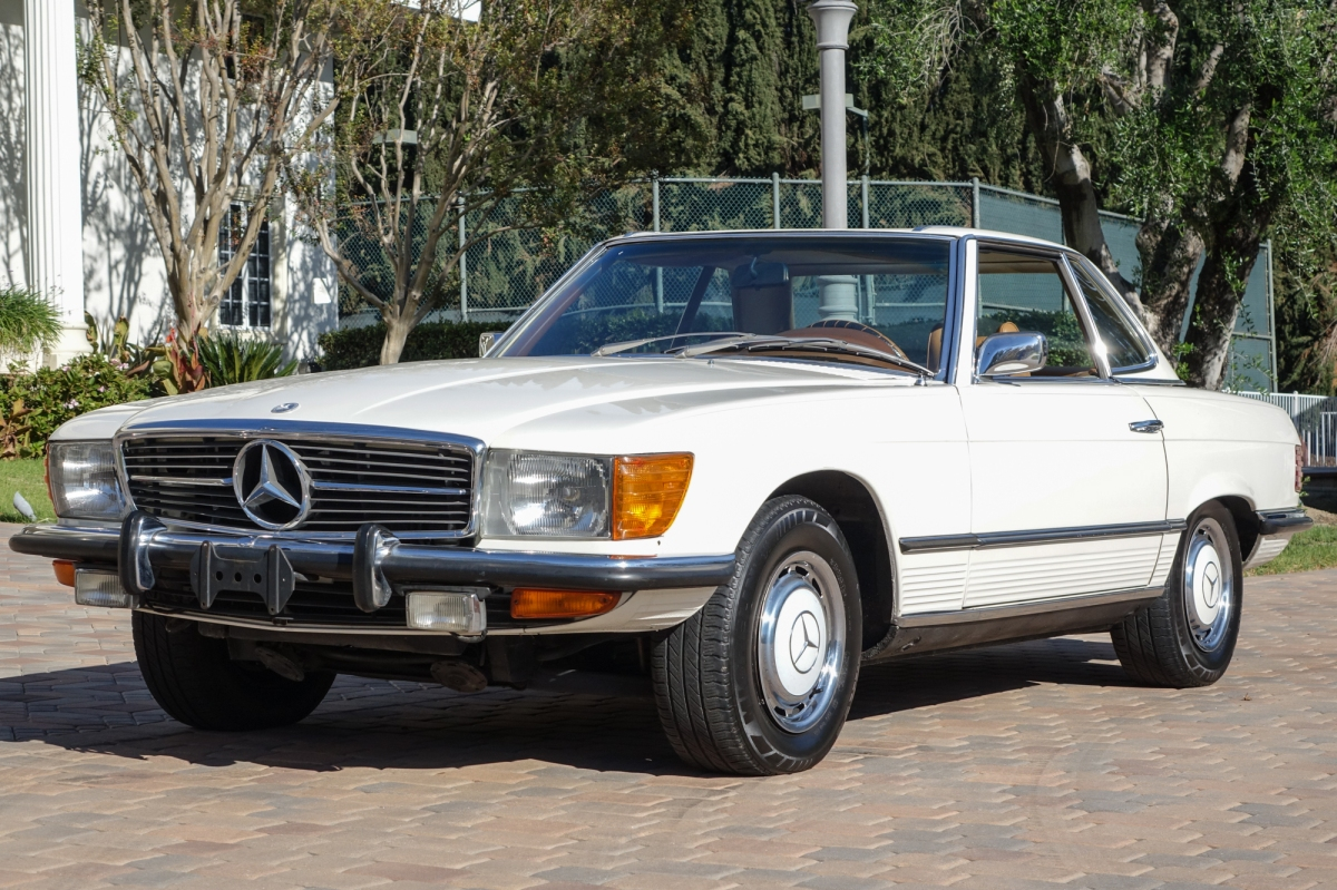 1973 Mercedes Benz 450sl For Sale Vintacular
